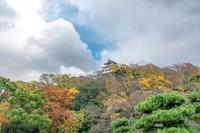 丸亀城秋景色