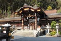 京都 松尾大社 中門
