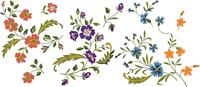 野の花カラー