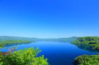 新緑の十和田湖