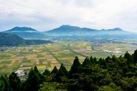 阿蘇高原の展望所