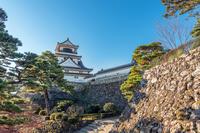 高知城の風景