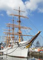 日本の練習帆船日本丸