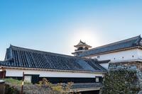 高知城 本丸風景