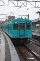 JR桜井線 105系(京終駅)