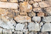 背景素材 石垣
