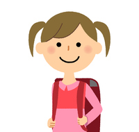 女の子 通学