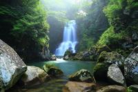 夏の奈曽の白滝