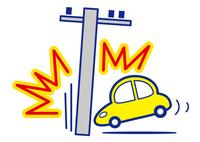 乗用車 単独事故