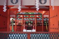 京都 吉田神社 拝所