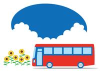 夏 バスで巡る観光