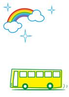 雨上がり 快適バス旅行