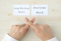 残業と長時間労働禁止イメージ