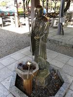 西新井大師の延命水洗地蔵尊