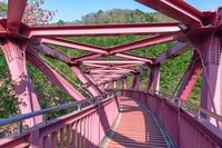 山中温泉 あやとり橋