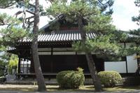 京都 廬山寺 境内の風景