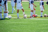 少年サッカー練習風景