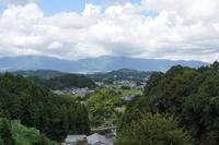 飛鳥路の風景 岡寺から見た明日香村