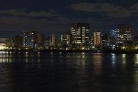 中央大橋より眺めるウォーターフロント 夜景