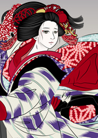 歌舞伎 櫓のお七