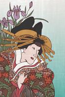 浮世絵 三浦屋の高尾