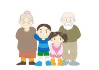 家族〈祖父母&孫〉
