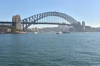 シドニー湾・ハーバーブリッジ