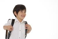 男の子の小学校入学イメージ