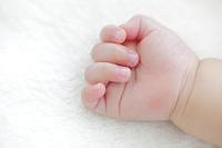 赤ちゃんの小さな手
