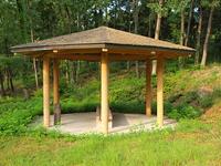 公園の東屋
