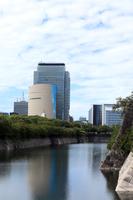 大阪の都会風景