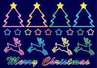 クリスマスネオンセット