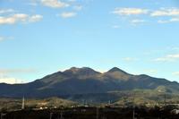 韮崎駅から見た瑞垣山