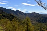 瑞垣山から見た富士山