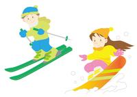 スキー&スノボーセット