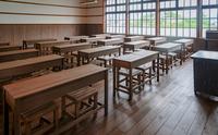 レトロな教室の風景