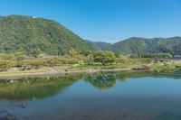 岩国 錦川の風景