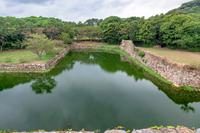 萩城跡の風景