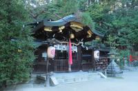 京都 八大神社 本殿