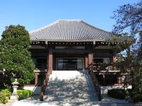 台東区谷中の全生庵(本堂)
