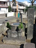谷中霊園にある日本画家・鏑木清方の墓