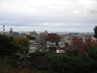 兼六園の眺望台からの眺め(金沢市街)