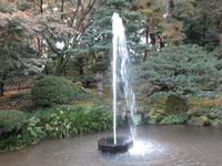 日本最古といわれる兼六園の噴水