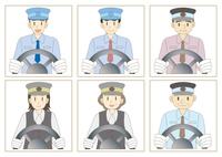 バス運転手セット