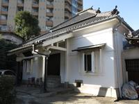 文京区の講安寺(本堂)
