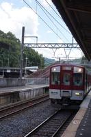 近鉄吉野線 8600系(飛鳥駅)