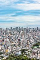 大阪市街地の全景