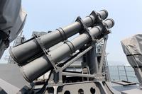護衛艦 ミサイル発射装置