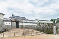赤穂城 本丸表門の風景
