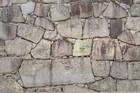 背景素材 赤穂城石垣